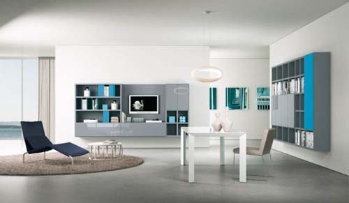 10 современных гостиных от Alf Da Fre