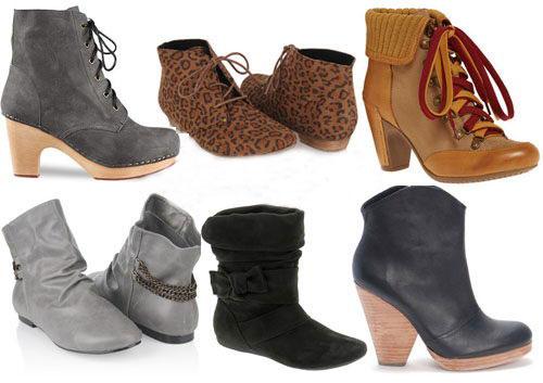 Модная обувь весна 2011