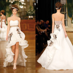 Свадебная мода 2013