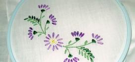 Вышивка на салфетках