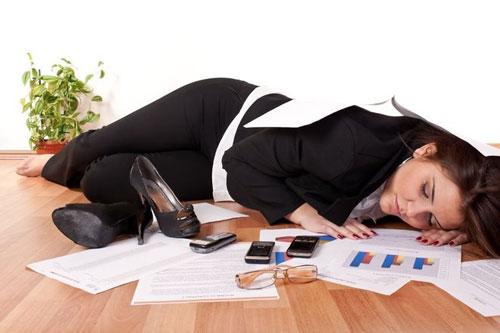 Последствия увлеченности работой