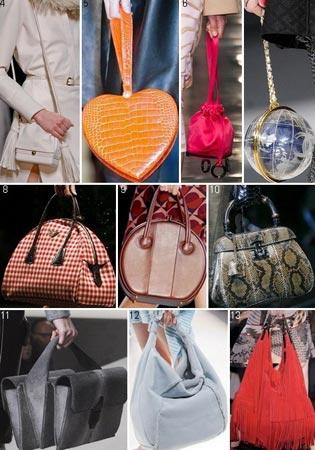 Модные сумки сезона зима 2013-2014