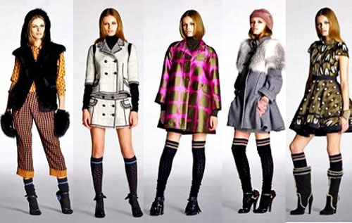 Новые коллекции осень-зима 2012