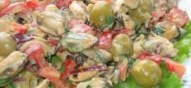Салат из мидий — низкокалорийный и полезный для здоровья!