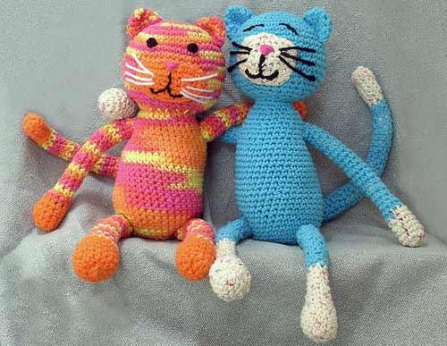 Вязанные игрушки своими руками