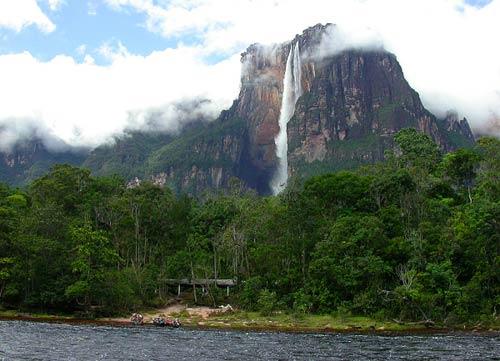 Венесуэла - водопад Анхель