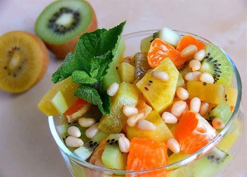 Фруктовые салаты – лекарство от авитаминоза и стресса