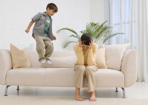 Гиперактивное поведение детей