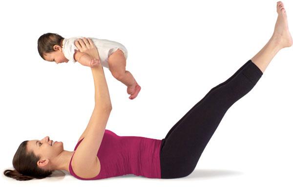Поддержание фигуры в период беременности и после родов