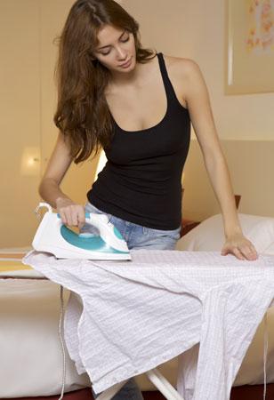 Погладить рубашку быстро и легко
