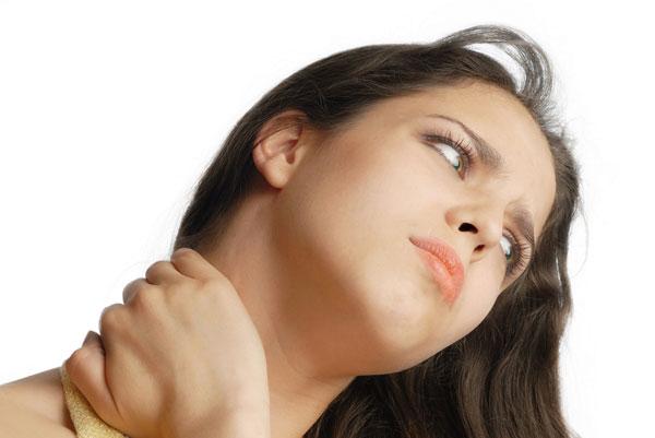 Избавьтесь от солевых отложений в области шеи