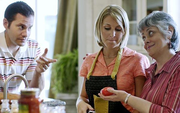 Как ладить с родителями жены или мужа?