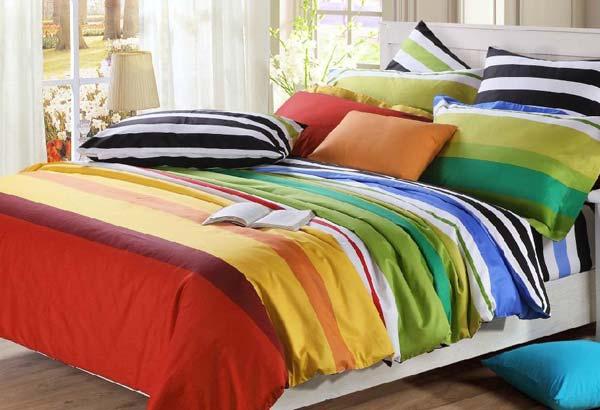 Семь цветов радуги для вашей спальни