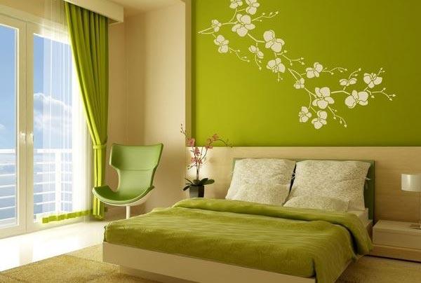 Семь цветов радуги для вашей спальни (фото)