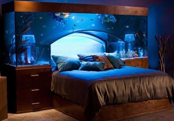 Необычные варианты изголовья кровати