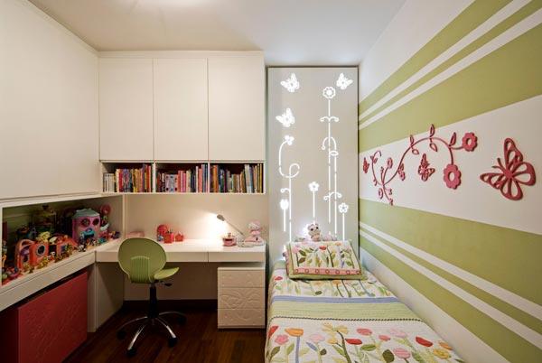 Маленькая детская комната: плюсы и минусы