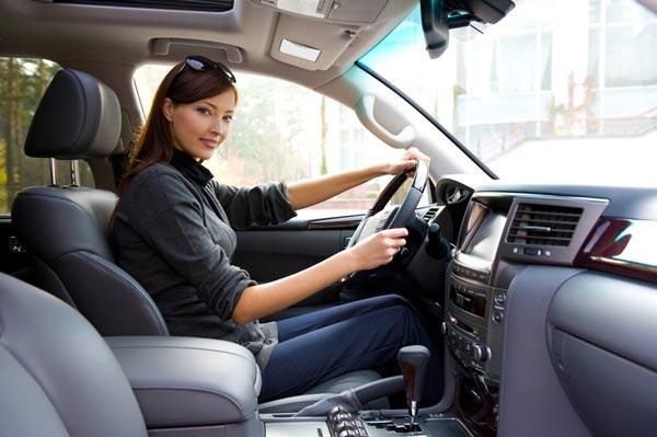 Полезные привычки для женщин за рулем