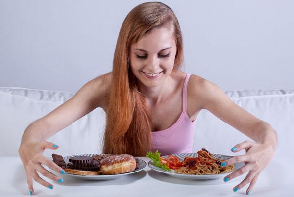 Как бороться с перееданием правильно