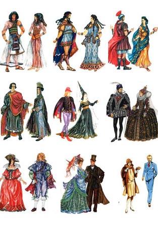 История модной одежды