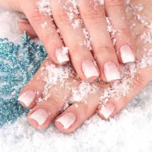 Модные тенденции зимнего маникюра (фото)