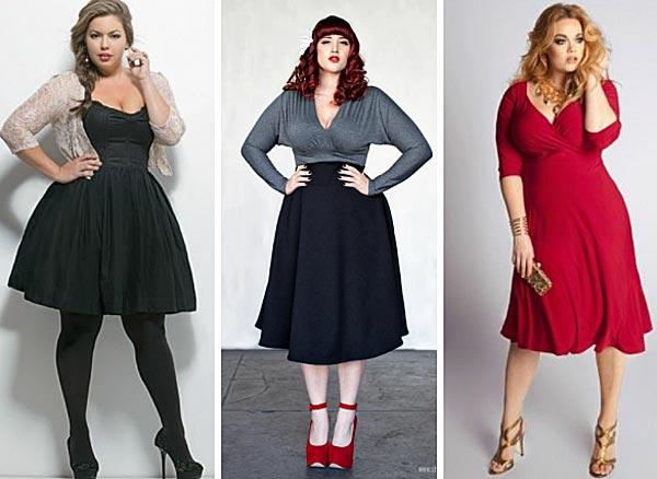 Как подобрать одежду полным девушкам с А-образной фигурой?