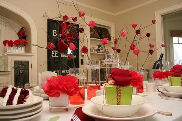 Украшаем дом ко дню Святого Валентина