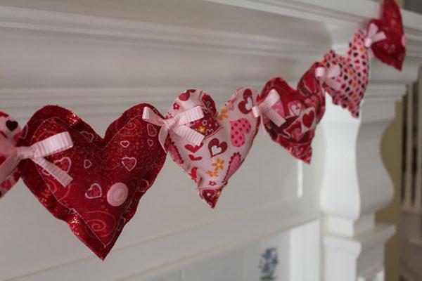 Декор дома ко дню Святого Валентина