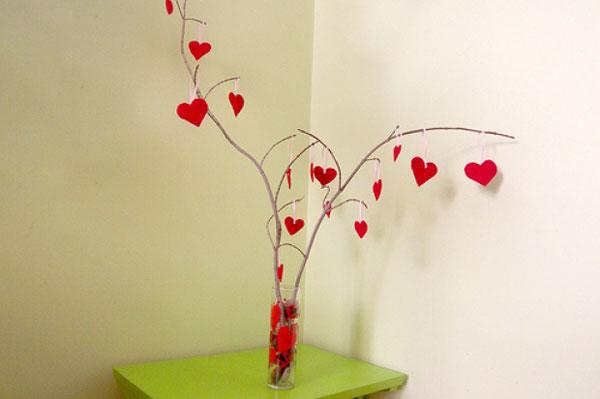 Как украсить дом ко дню Святого Валентина (фото)
