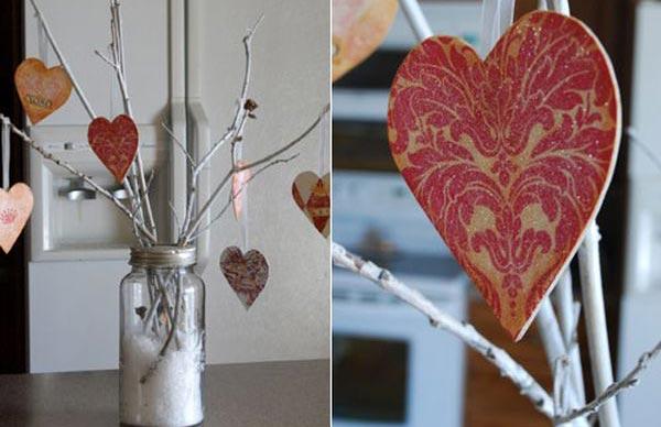 Подготовка дома ко дню Святого Валентина (фото)