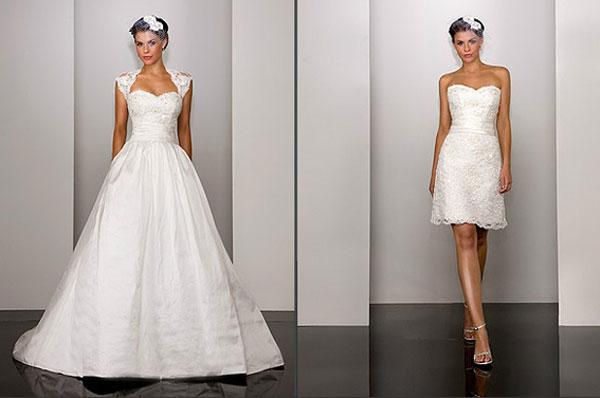 Модные тенденции 2015 года в свадебных платьях