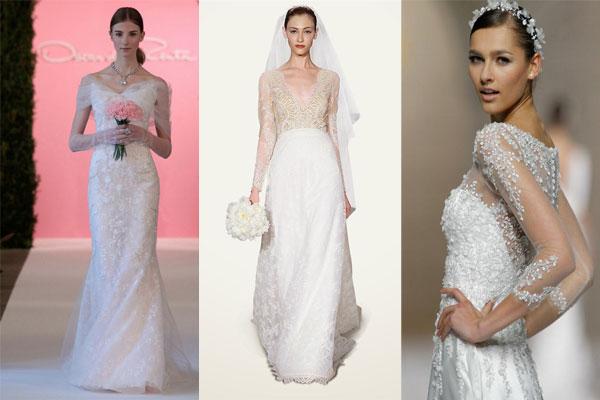 Свадебных платья - модные тенденции 2015