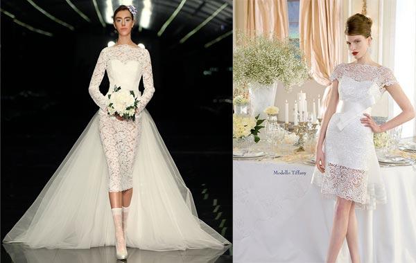 Прозрачные свадебные платья 2015