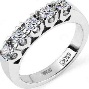 Кольца с бриллиантами для обручения