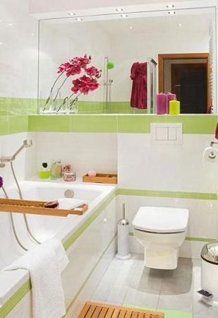 Дизайн ванной комнаты маленьких размеров