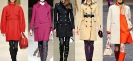 Современные модные пальто