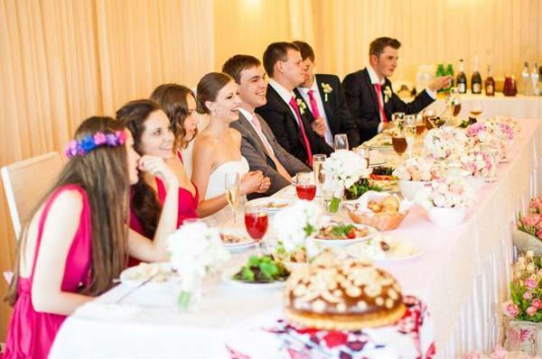 Организуем свадебный банкет