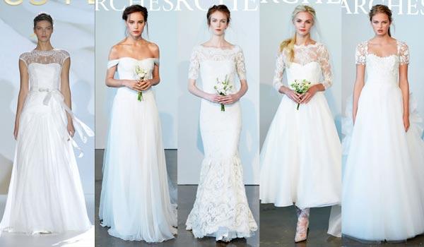 Модные свадебные платья - лето 2015