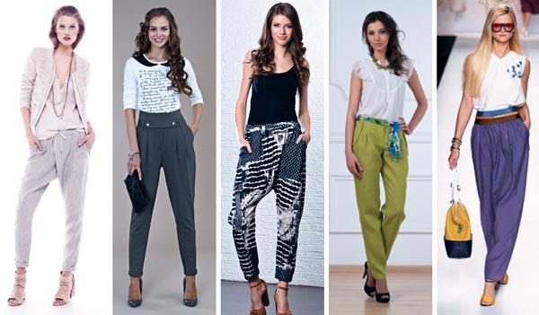 Женские брюки: изящество и элегантность