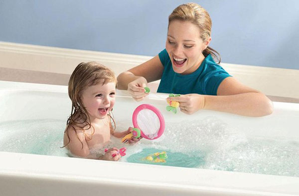 Как поощрять ребенка в ванной. Творческие идеи