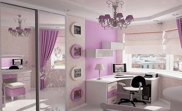 комнату для современной девушки