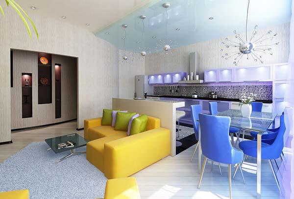 Как превратить маленькую квартиру в студию (фото)