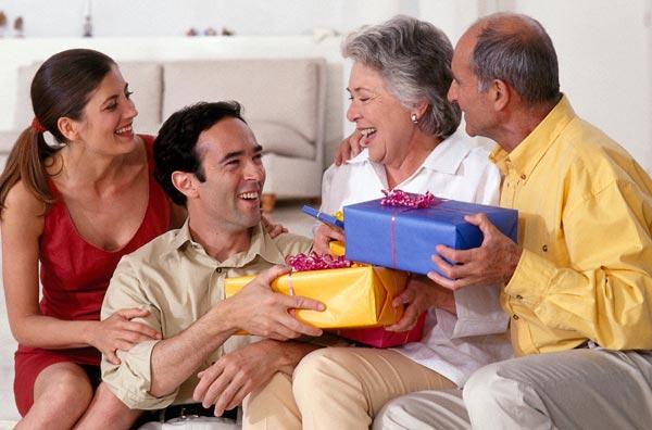Что подарить родителям?