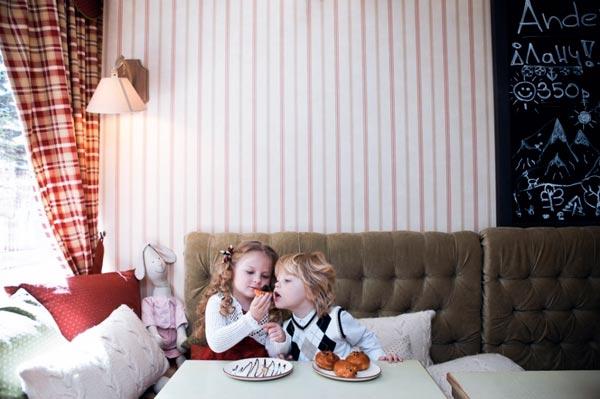 Кафе с детской комнатой