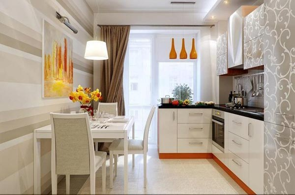 Комфортная, функциональная маленькая кухня
