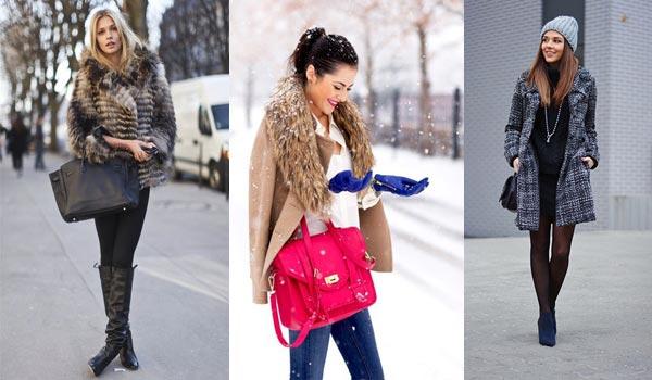 Сколько сумок необходимо женщине в холодную пору?
