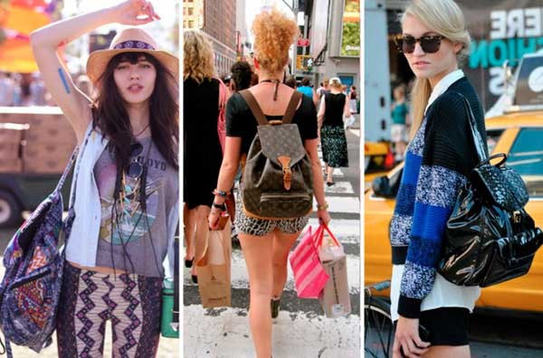 Модные рюкзаки для женщин