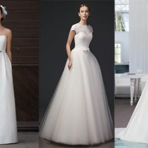 Топ-3 популярных силуэтов для свадебного платья