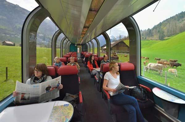 Что выбрать: автобусные туры в Европу или путешествия на поезде? (фото)