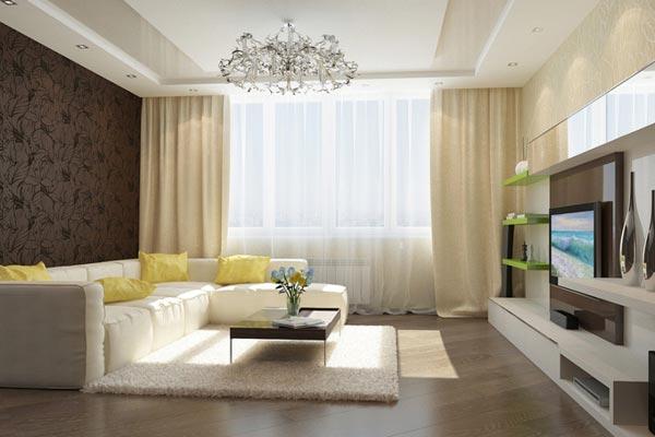 Как сделать зал уютным и красивым