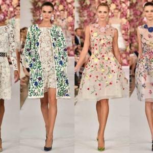 Модные платья весны 2016